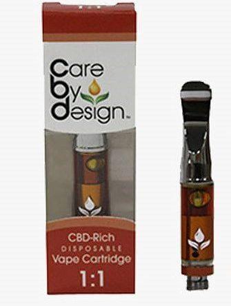 500mg Care by Design 1:1 CBD Cartridge