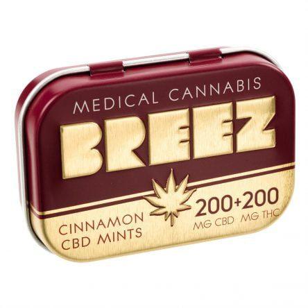 Cinnamon CBD Mints: 200mg CBD + 200mg THC