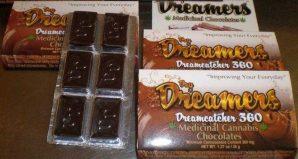 Dreamcatcher 360 Chocolate 360 mg. of THC | Buy Edibles online