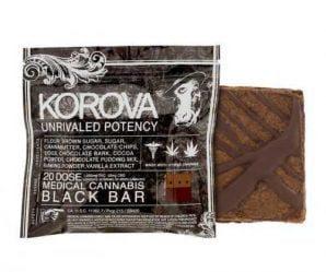 Cookies: Korova Black Bar – 1.000 MG THC   Buy Edibles Online