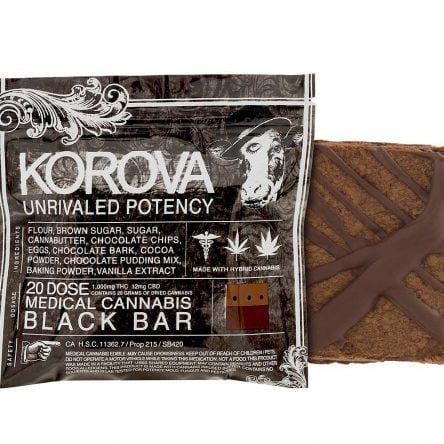 Cookies: Korova Black Bar – 1.000 MG THC