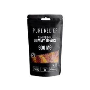 Buy cannabis edibles online   Pure Relief Cannabidiol Gummy Bears